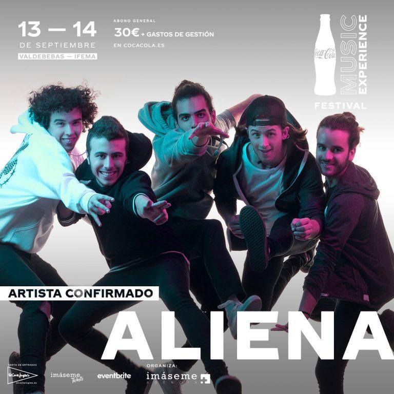 ALIENA Coca Cola Music Experience